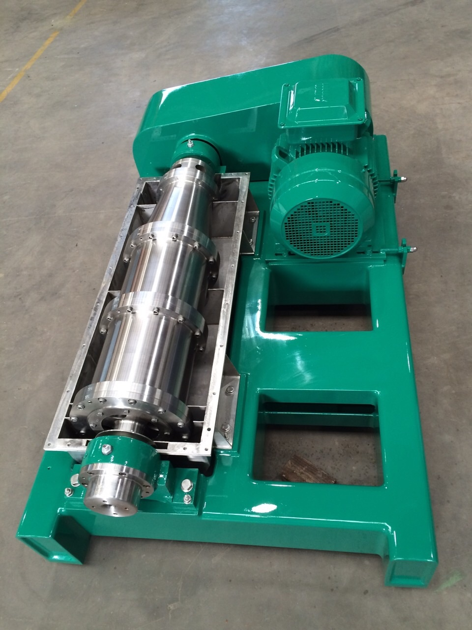 LW decanter centrifuge rotor