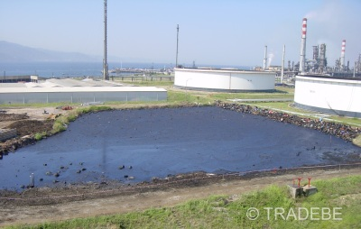 oil sludge tank bottoms dewatering