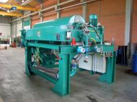 used decanter centrifuge dewatering skid
