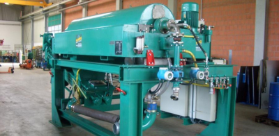 used Decanter Centrifuge Skid