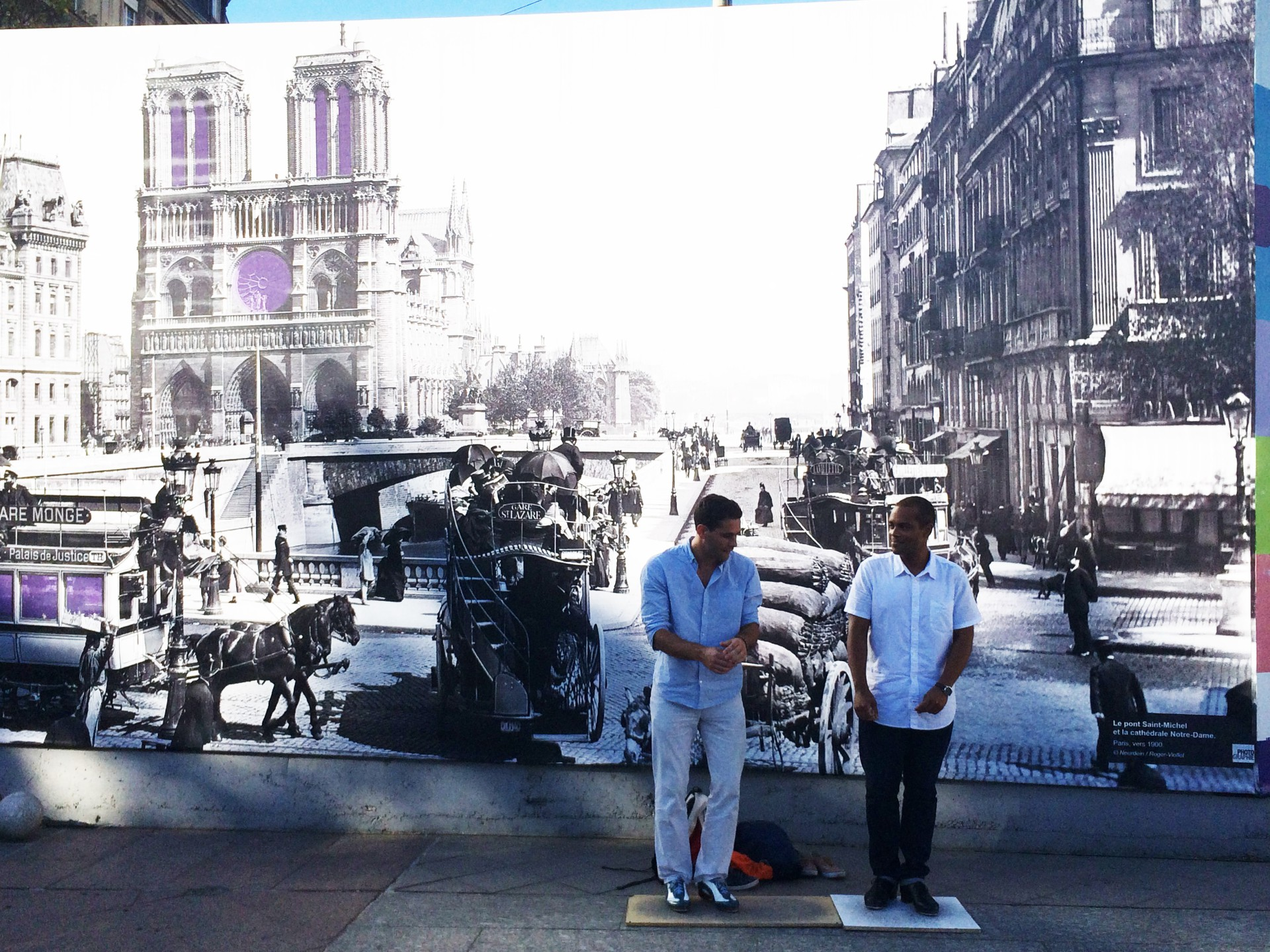 Street performance avec Aurel & Sam
