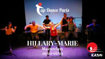 Stage claquettes à Paris avec Hillary Marie (USA)