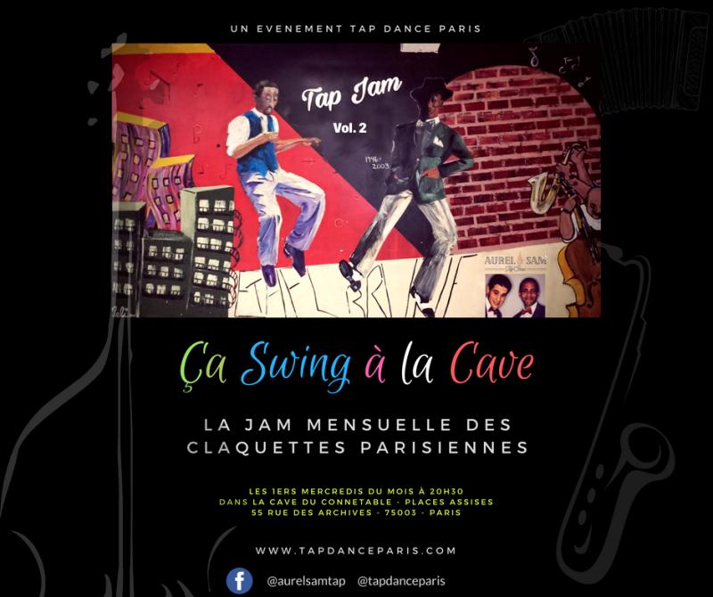 Ca swing à la Cave - Jam Claquettes