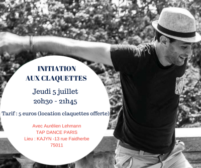 Tap Dance Paris - initiation claquettes