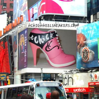 WELCOME TO HC HIGHHEEL SNEAKERS