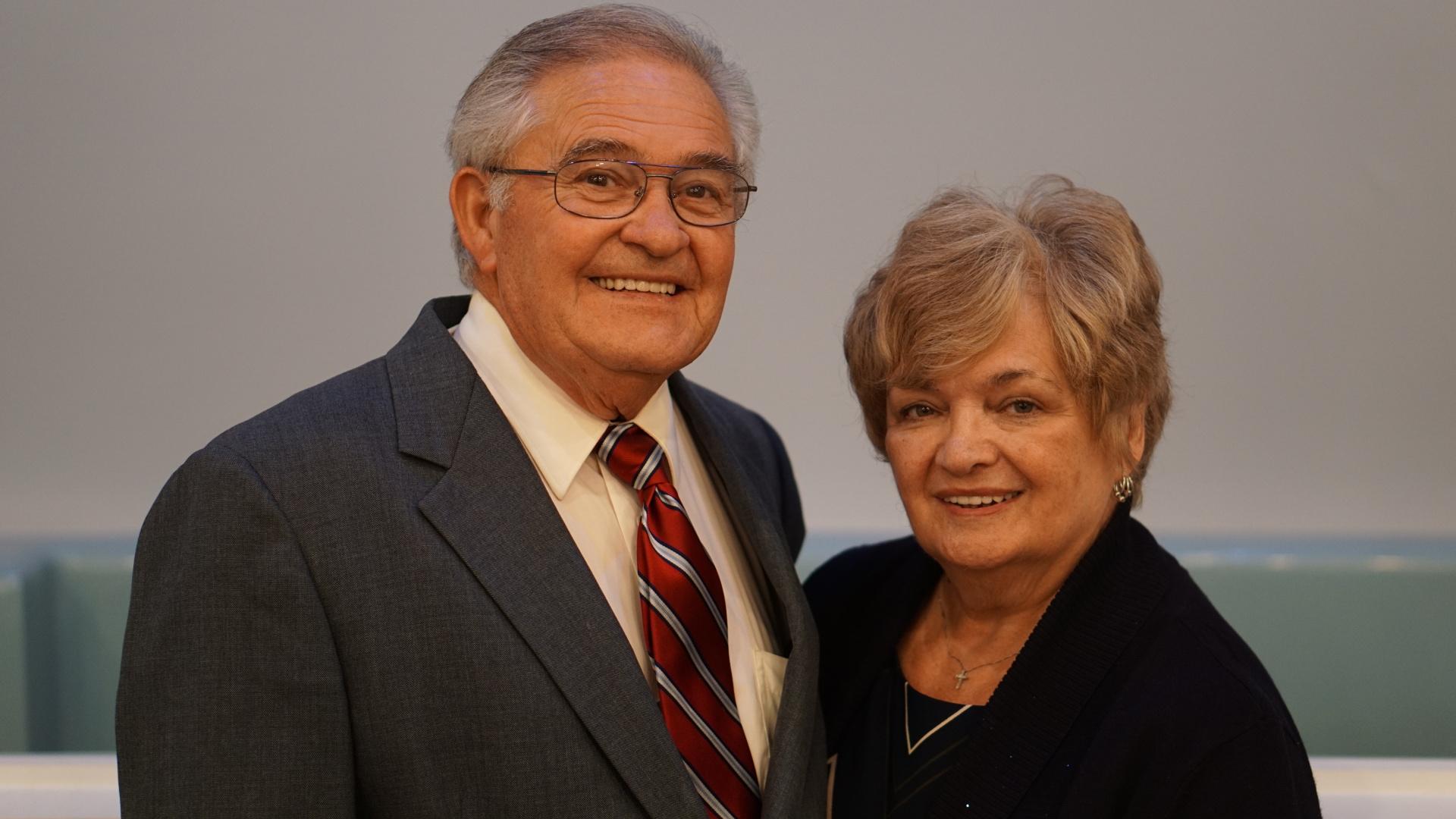 Senior pastor Dr. Lyn Jackson