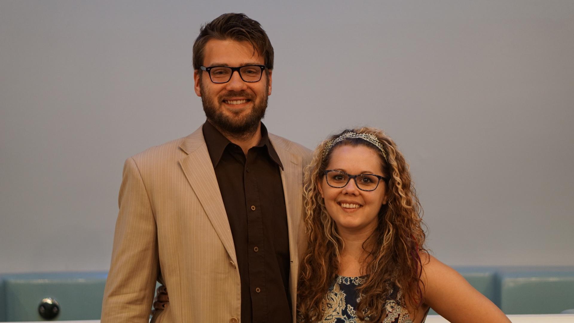 Lauren and Jonathan King