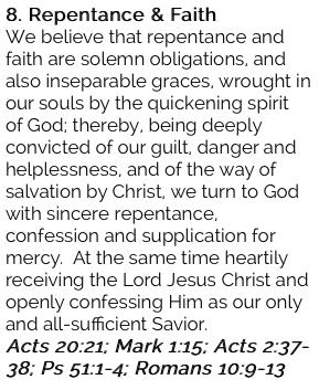 8. Repentance & Faith