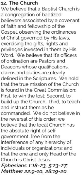 12. The Church