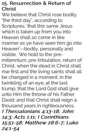 15. Resurrection & Return Of Christ