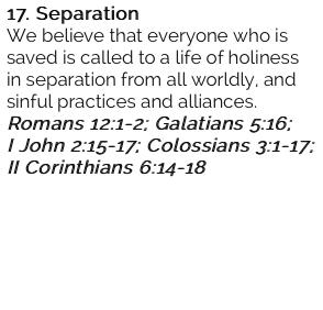 17. Separation