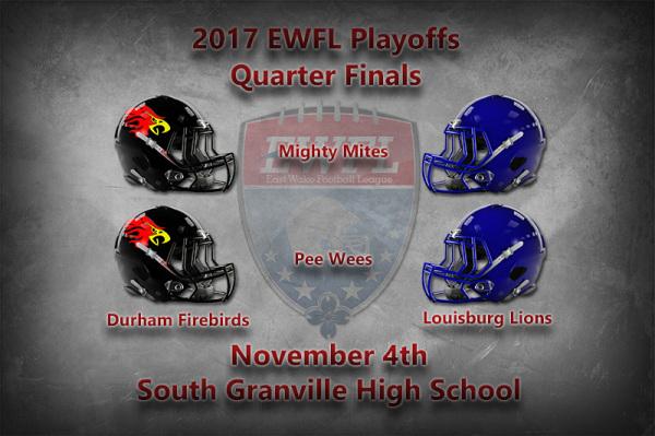 EWFL Quarter Finals