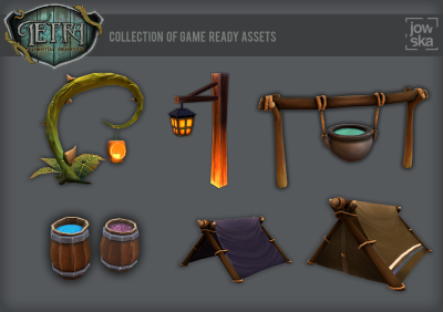 Tetra - Collection of Assets