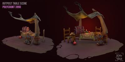 Outpost Scene