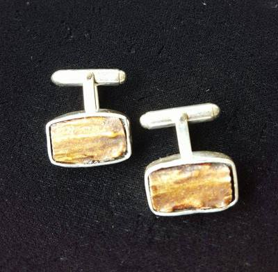 Deer Antler Cufflinks