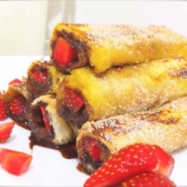 Jibran Khaliq Nutella French Rolls