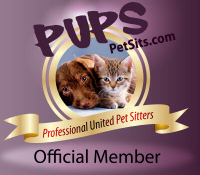 Professional United Pet Sitters Pet Sitting Directory:  Find a Professional In Home Pet Sitter or Dog Walker in your area for your Pet Care needs