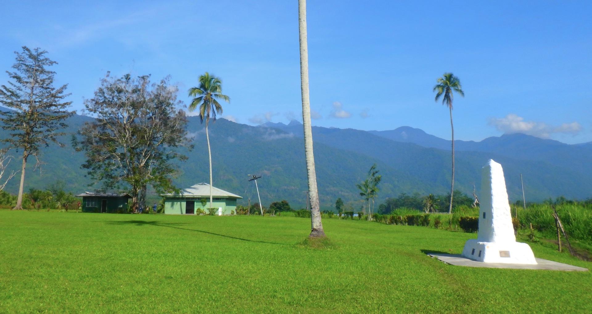 Monuments at Kokoda