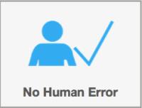 Benefit of ANS-1, no human error