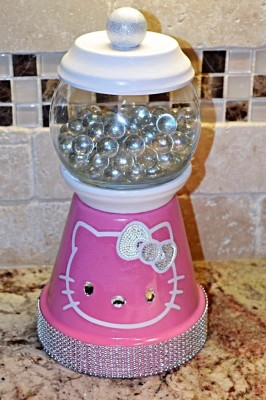 KITTY PINK BLING $25
