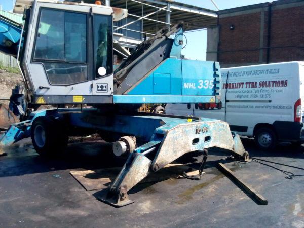 Wheeled Excavator 360 Machunes