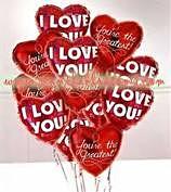 V-Day Balloons  $5.99 each