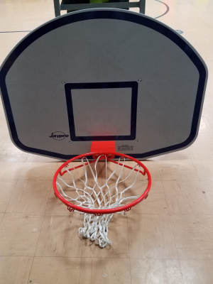 Purchased Adjustable Basketball Backboards for Unity Elem.