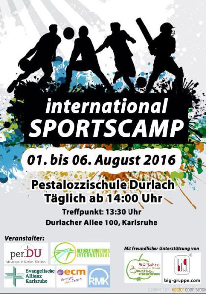 4th Summer Sport's Camp for Refugees