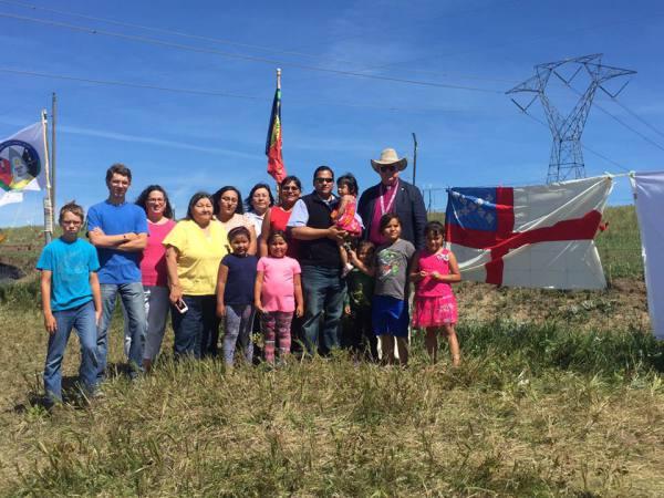 Standing Rock Church members