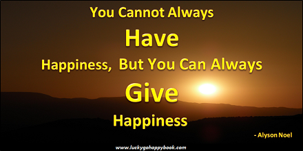 Giving Happiness