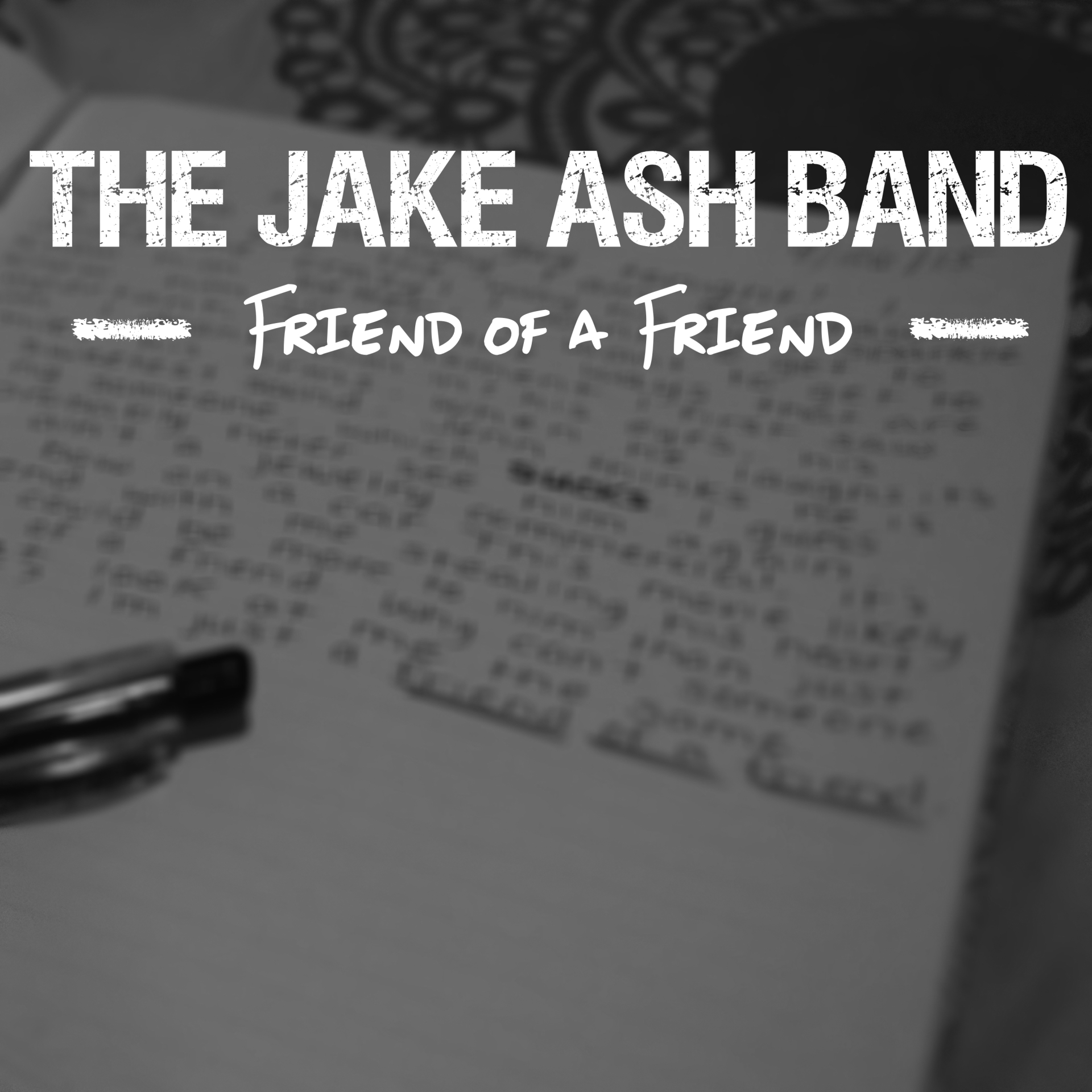 Friend of a Friend Album Art
