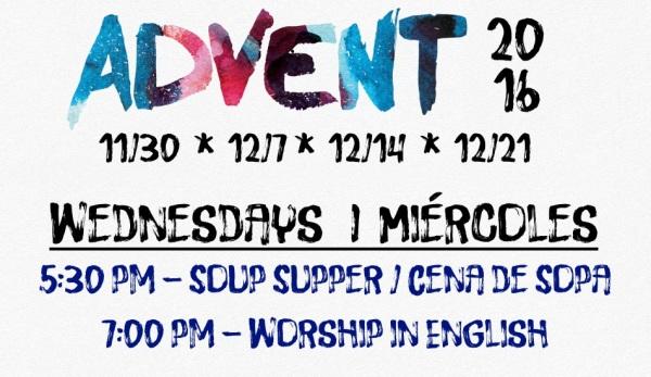 Join Us for Advent | Unirse a Nosotros para Advent
