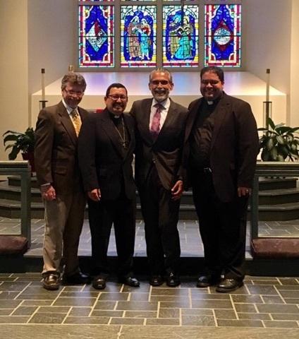 Congratulations to Vicar Nelson Ortega | ¡Felicidades a nuestro Vicario nuevo, Nelson Ortega!