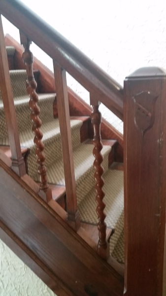 Original Wooden Staircase