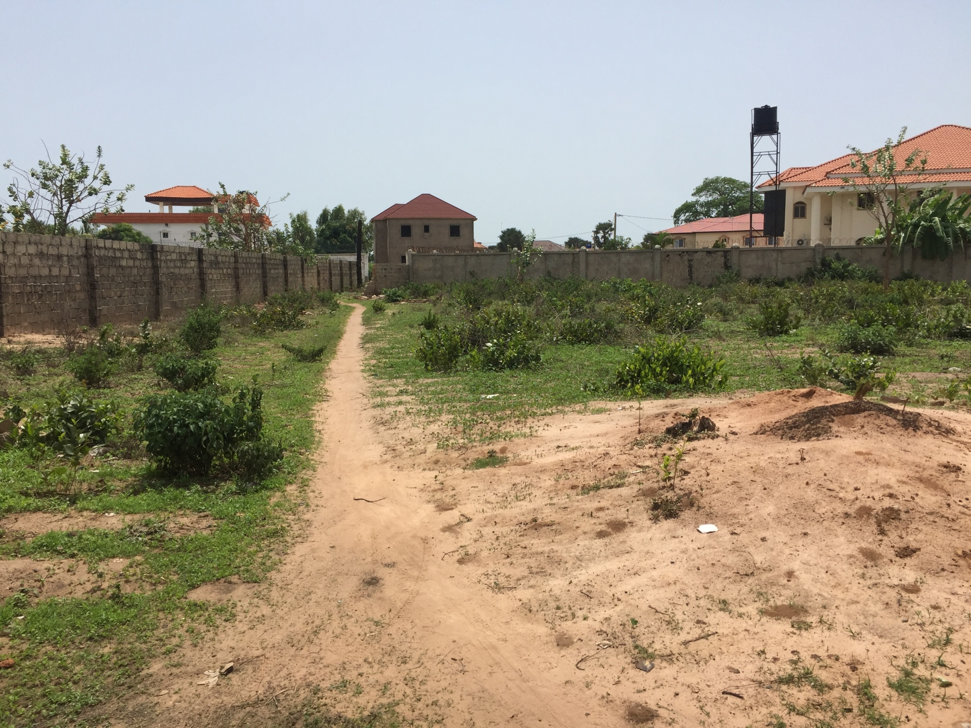 Double Plots of land. Brufut Heights The Gambia
