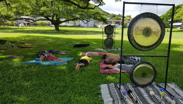 Solar Plexus Activation at Triangle Park