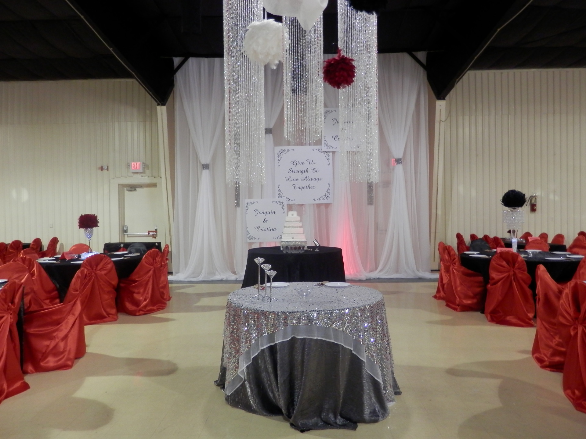 Head Table Background