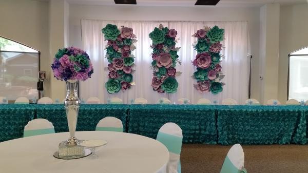 Paper flower extravaganza