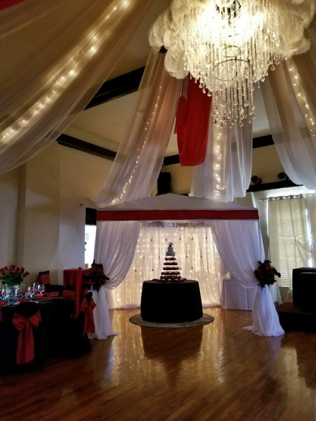 Evening Wedding at the Country Club.