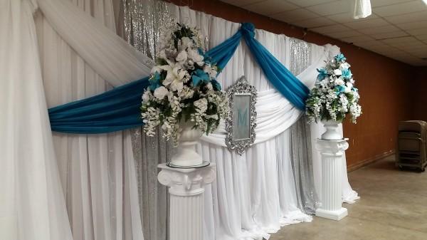 Wedding Ceremony/ Head Table Backdrop