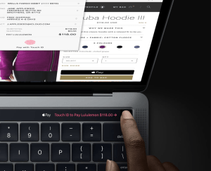 MacBook Pro Protects Finger Prints with T1 Chip Secure Enclave