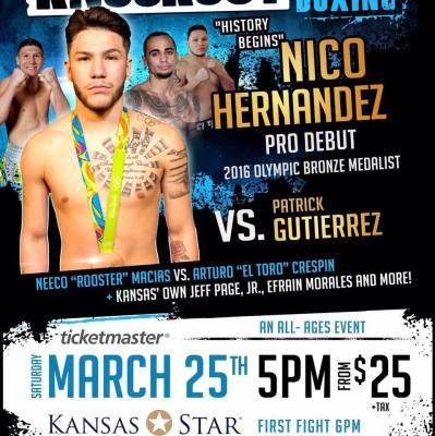 NICO HERNANDEZ WINS DEBUT FIGHT!