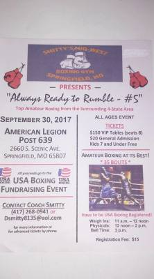 Always Ready to Rumble - #5