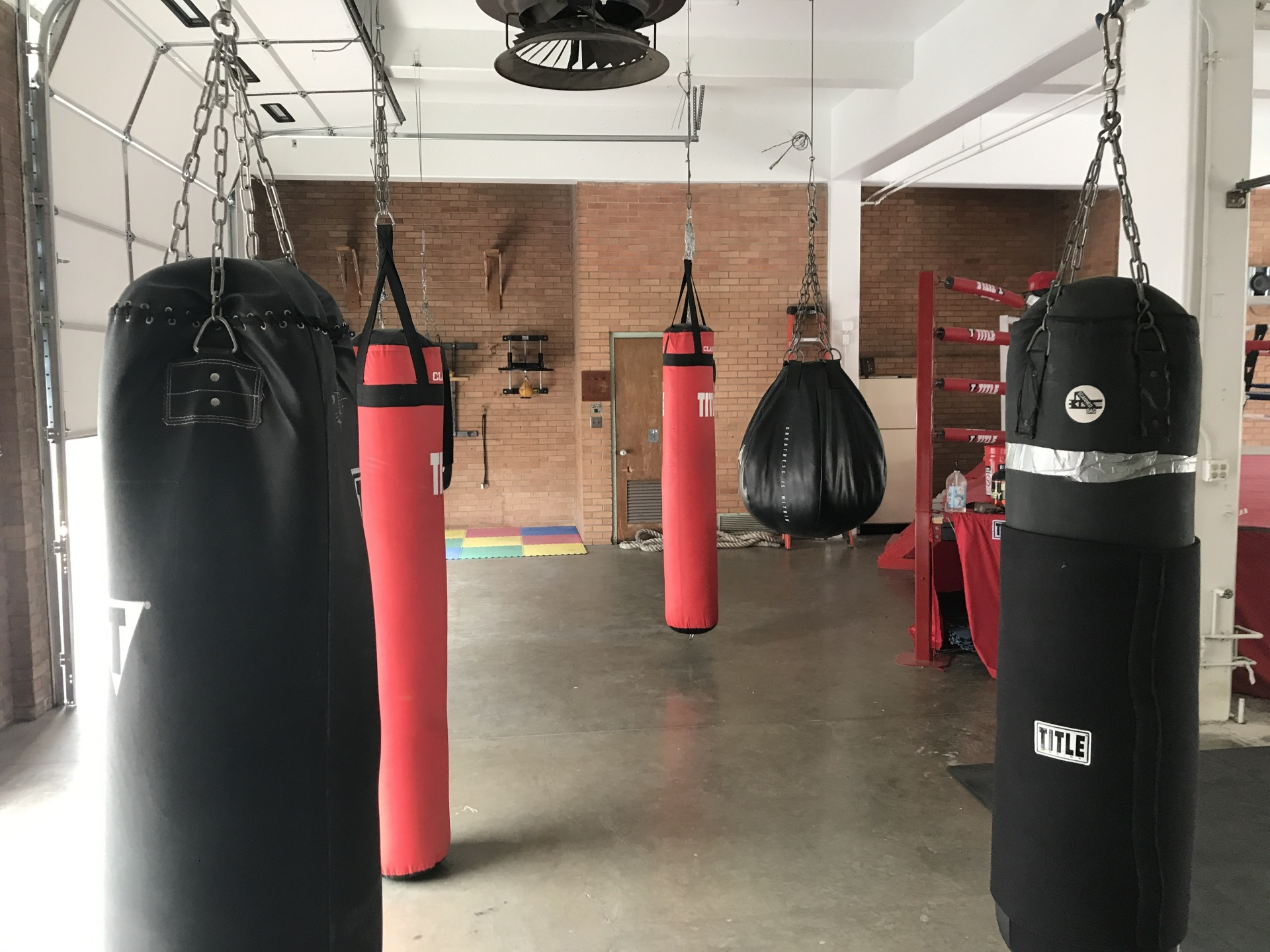 Professional Boxing Facility