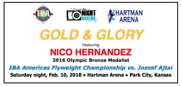 2016 Olympic bronze medalist Nico Hernandez Fully recovered and raring to go in 1st title fight