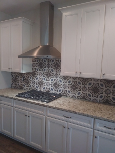 Custom Build, backsplash, tile, Interior Design, Greenville Interior Designer