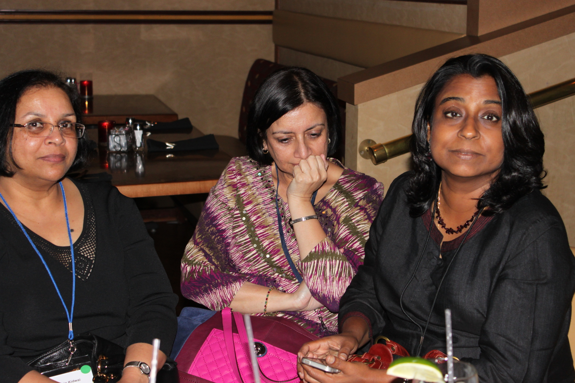 Zarin, Mona and Meera