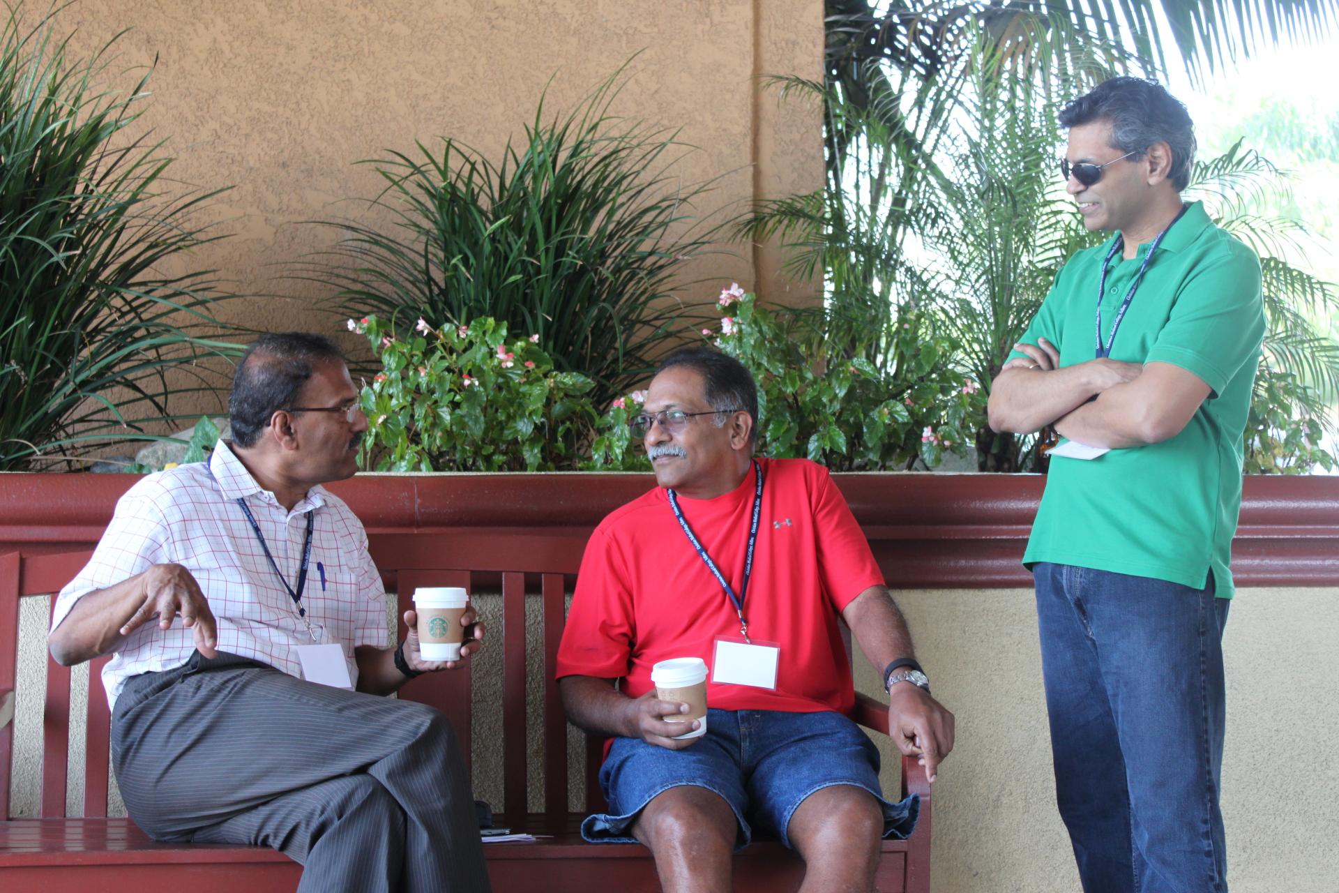 Coffee with Samson, Ravi and Mithran