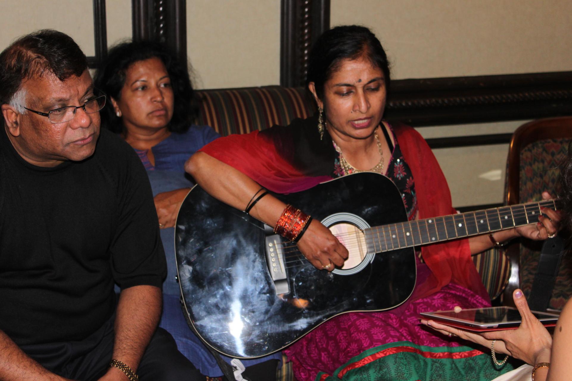 Tricky, Kalyani and Geetha