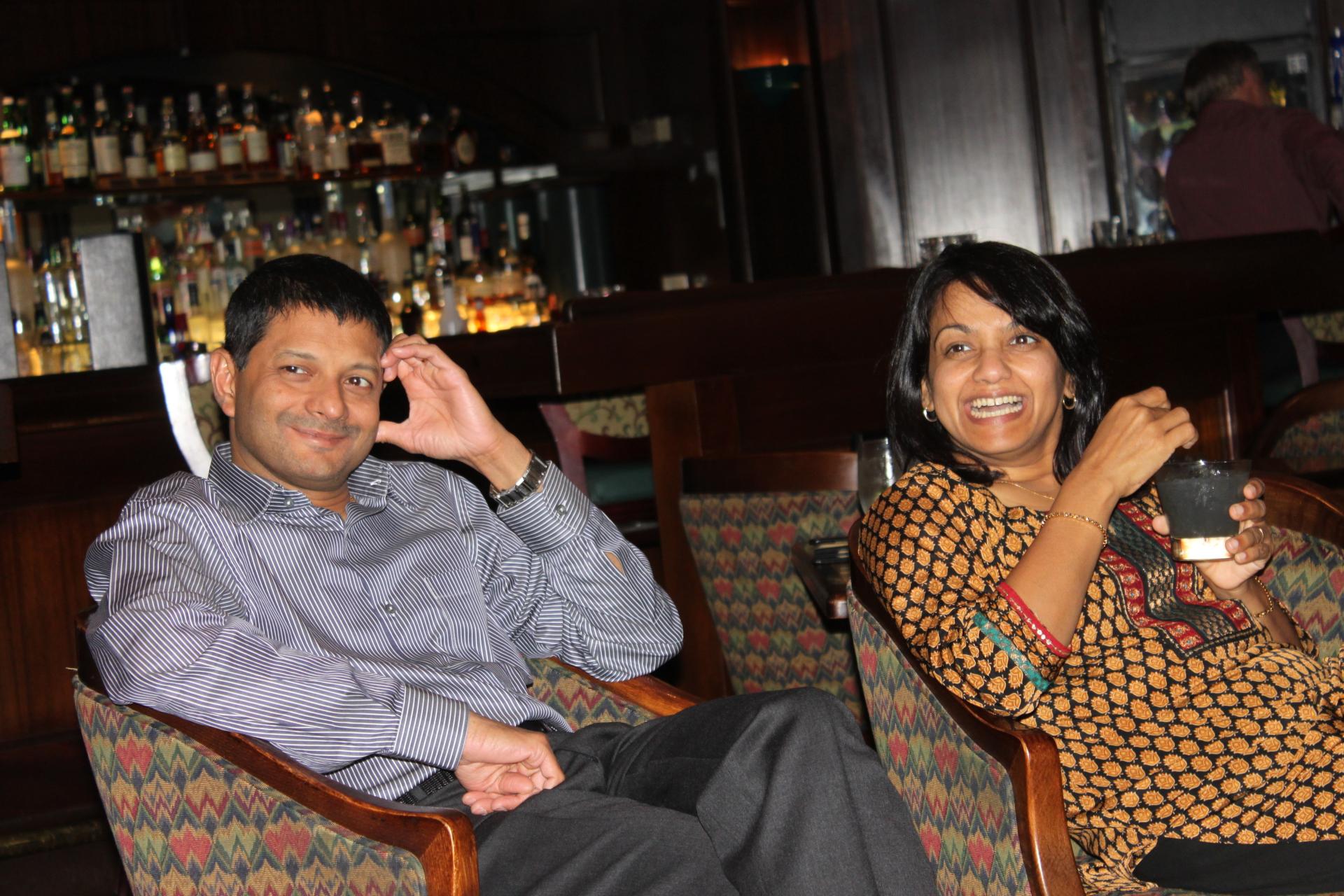 Vincent and Priya